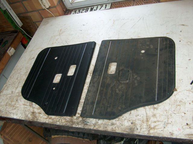 Volvo 144 1967 deurpanelen for Auto interieur verven